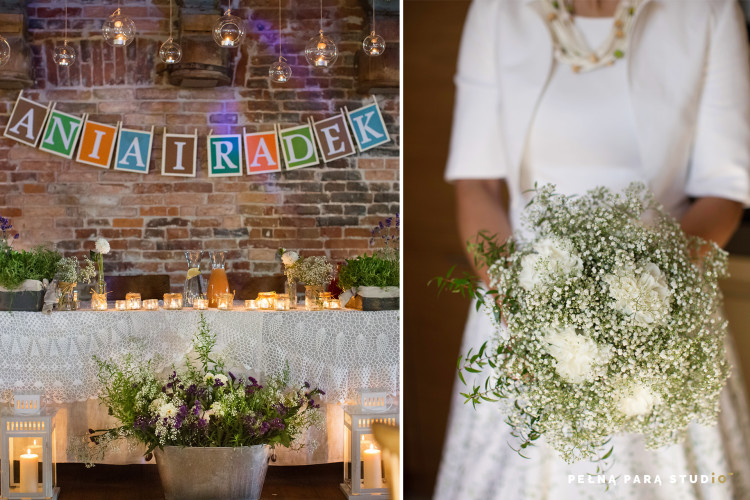 A rustic wedding: Ania and Radek