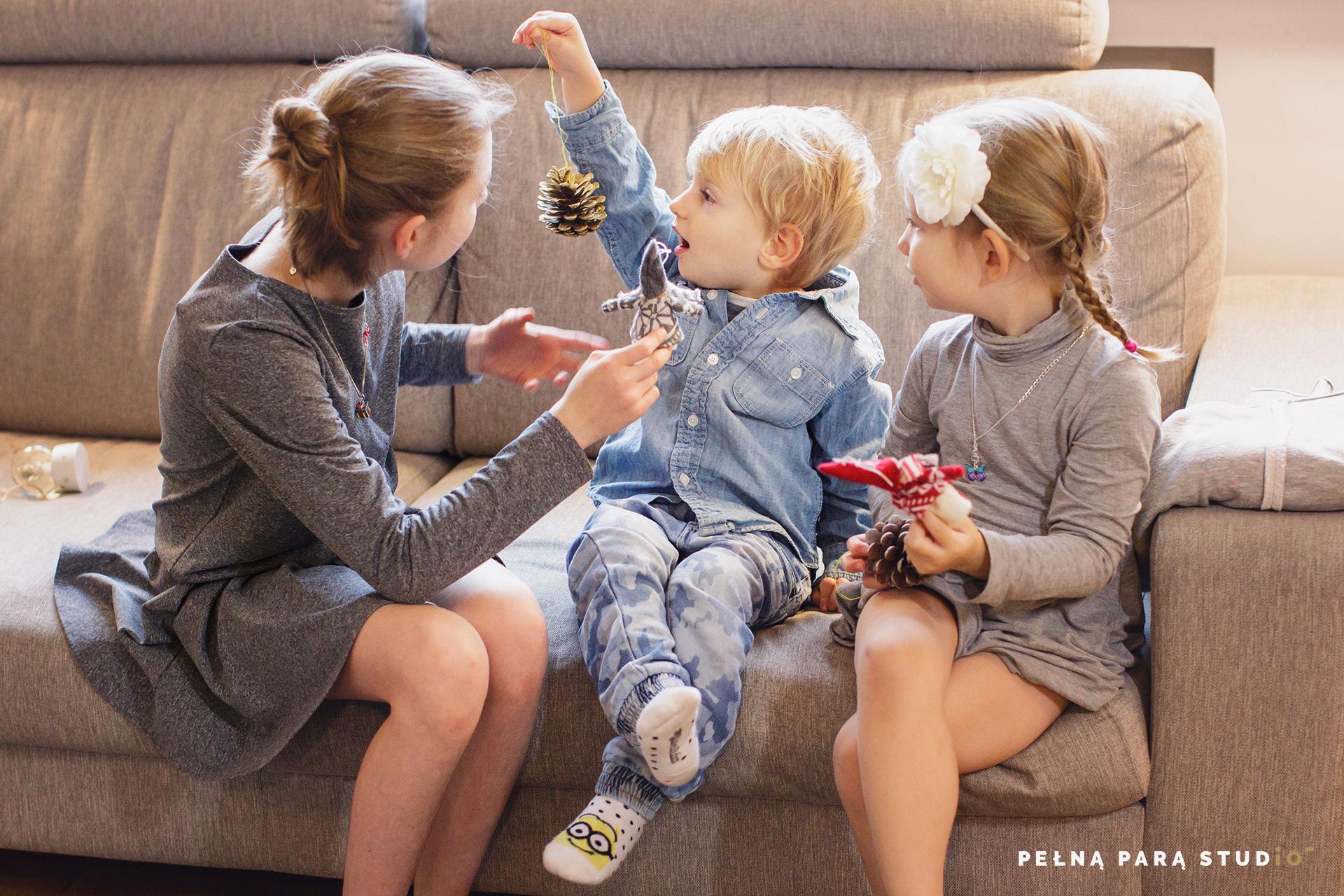 Domowa sesja rodzinna
