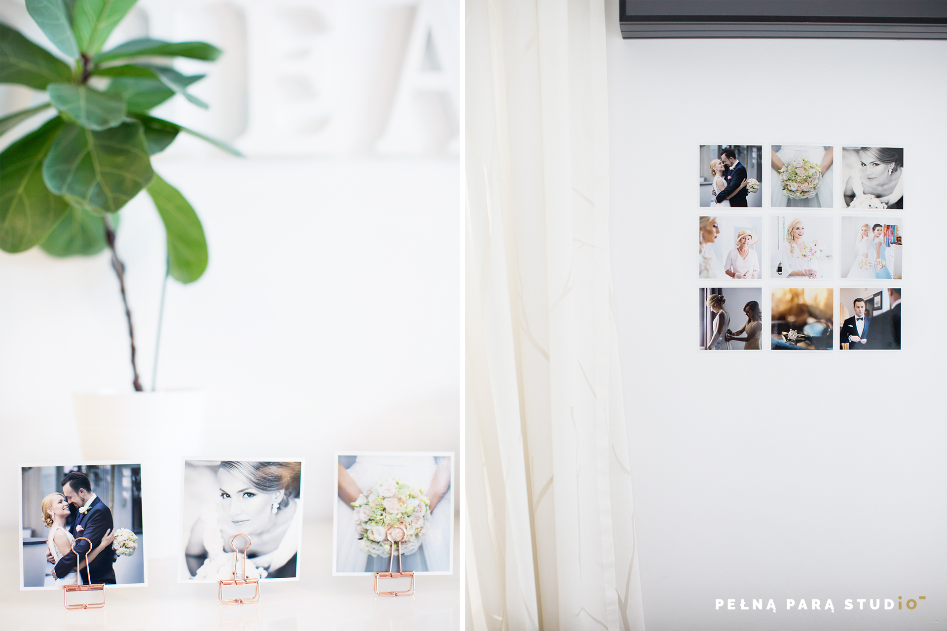 3 clever ideas to create a photo gallery at home
