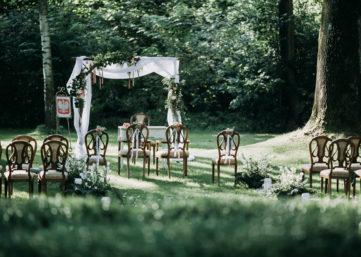 Ślub w plenerze Pałac Zdunowo