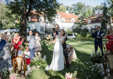 Fotograf ślubny Warszawa-Palac Zdunowo