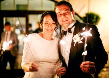 Ślub na koniec lata Villa Estera